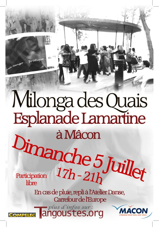 Milonga 5 juillet 2015