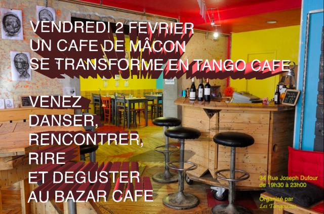 Café-Tango au Bazar Café