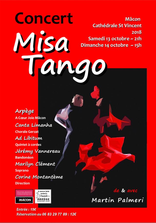 Flyer MisaTango